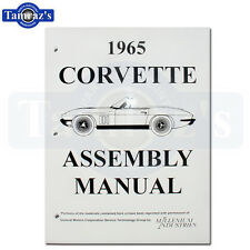 1965 Corvette Factory Assembly Manual New Loose Leaf UnBound