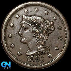 1856 Braided Hair Large Cent --  MAKE US AN OFFER!  #K8547
