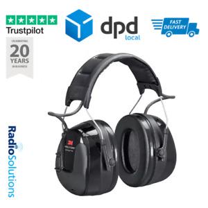 3M Peltor HRXS221A Worktunes Pro AM/FM Radio Ear Defenders Headset 32 DB Black