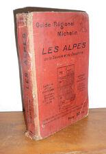 GUIDE MICHELIN  1927  régionaux LES ALPES     mar04