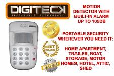 PIR DETECTOR W/SECURITY SAFETY PROGRAMMABLE KEYPAD INTRUDER ALARM 6 DIGIT CODE