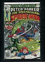 The Spectacular Spider-Man #4 VF/NM 1977 Marvel vs Vulture 1st Hitman Comic Book