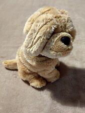 Soft toy sharpei puppy