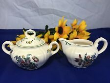 Villeroy & Boch ALT STRASSBURG Creamer And Sugar Bowl Set Germany