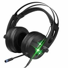 LUXON 7.1 Gaming Headset Headphones with Mic and LED Light for PC/ MAC/ Laptop