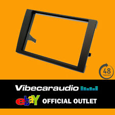 Audi A4 B6/B7 Black Double Din CD Stereo Fascia Adaptor CT24AU16