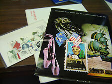 1978 USPS Mint Set of Commemorative Stamps - UNOPENNED!!