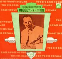 WOODY HERMAN the big band sound of 2317 072 A2/B1 uk verve LP PS EX/EX