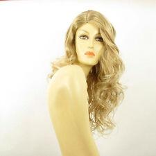 Perruque femme longue blond méché blond très clair PRISCA 15t613