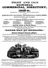 National Commercial Directory 1828-9 Cheshire to Yorks