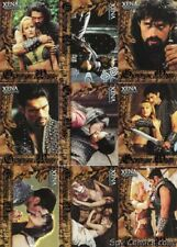 XENA SEASON 6 ARES GOD OF WAR KEVIN SMITH LUCY LAWLESS 9 CARD CHASE SET GW1-GW9