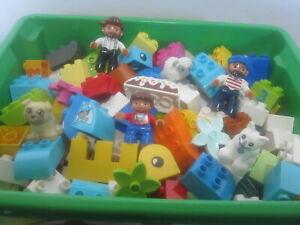 50 LEGO DUPLO STEINE BAUSTEINE SONDERSTEINE BLUMEN FIGUR TIER STARTER SET NEU