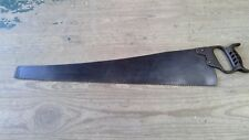 Vintage /Antique Ice Saw with Cast Iron Handle