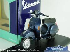 VESPA P150X 1978 SCOOTER MODEL BIKE 1:18 SIZE BLUE CLASSIC MOPED MAISTO T3