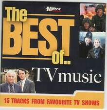 BEST OF TV MUSIC - PROMO CD: SPOOKS X-FILES FRIENDS, LONE RANGER, COLD CASE ETC