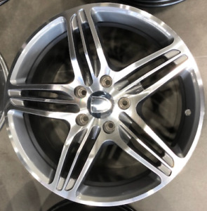 997 FITMENT TURBO STYLE WHEELS  19X8.5 19X9.5 TO FIT MOST PORSCHE IN MELBOURNE
