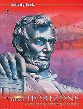 Harcourt Horizons: United States History Beginnings 2003 Paperback Activity Book