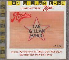 IAN GILLAN BAND - LIVE AT THE RAINBOW CD John Gustafson Ray Fenwick Deep Purple