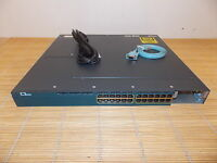 Cisco Catalyst WS-C3560X-24T-S 24x 10/100/1000 GIGABIT Port Switch single PWR
