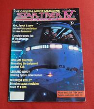 Star Trek IV 4 - The Voyage Home - The Official Movie Magazine - Quite Rare!