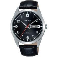 Pulsar Gents Leather Strap Watch -     PJ6067X1-PNP