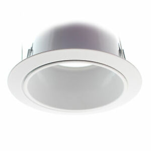 ELCO LIGHTING ELS530KW RECESSED SPECULAR REFLECTOR TRIM, 5-INCH, WHITE