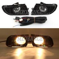 Full Set Right Left Side Front Fog Light Lamp Wiring Kits For Mazda 6 2006-2008