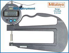 Mitutoyo 547-520s Digital Deep Throat Flat Anvil Thickness Gauge Australia Stock