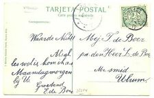 NEDERLAND 1912 AK  KR= VISVLIET =  VW PR EX