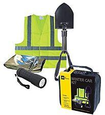 AA Winter Car Kit Shovel Torch Hi Vis Vest Foil Blanket EMERGENCY SPARES