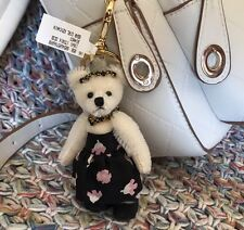 Prada Claire Bear Girl Bag Charm Keychain New With Box Made In Italy