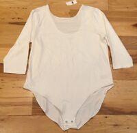 Gap Women's 2XL / XX-Large White Bodysuit Shirt. Nwt