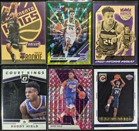 Lot of (6) Buddy Hield, Including Threads RC, Complete RC, Court Kings & inserts