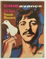 CINE AVANCE MAGAZINE No 193 OCTOBER 1968 RINGO STARR / LOS OVNIS / BOB DYLAN