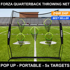 Football Quarterback Throwing Net | 8ft x 8ft Portable Football Target Net & Bag