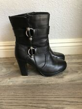 Harley Davidson Marissa Boots Black Size 7 Style # D84518