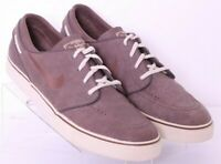 Nike 375361-202 Stefan Janoski Premium Brown Leather Sneaker Shoes Men's US 12