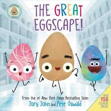 The Good Egg Presents The Great Eggscape! NEW hardcover book with 150 stickers!