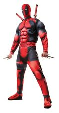 Deluxe Muscle Chest Deadpool Adult Costume NEW