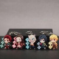 Demon Slayer Kimetsu no yaiba Anime Collectible Key Chains