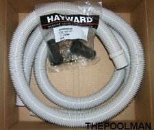 """Hayward EC1155 Suction and Discharge 1.5"""" Hose Package for Aboveground Pools"""