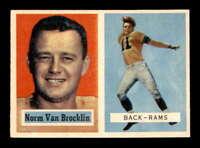 1957 Topps #22 Norm Van Brocklin  NM X1605003
