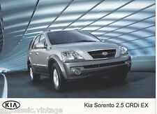 PRESS - FOTO/PHOTO/PICTURE - KIA SORENTO 2.5 CRDi EX
