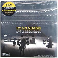 RYAN ADAMS LP Live At Carnegie Hall 140 Gram + DOWNLOADS Inc 2 New Songs SEALED