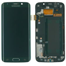 ORIGINALE Samsung Galaxy s6 Edge SM-g925f LCD Display Touch Screen Modulo Verde