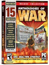 Anthologies of War: Deluxe Edition - 15 Games -Blitzkrieg, Cossacks & more -New