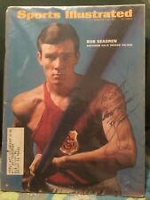 BOB SEAGREN SIGNED 1967 SPORTS ILLUSTRATED/GOLD MEDAL POLE VAULTING '68 OLYMPICS