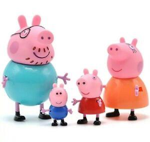 Peppa Pig Famille figurines Pap Pig Maman Pig Peppa Pig George  Livraison Rapide