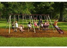 Flexible Flyer Play Park Flyer Outdoor Metal Swing Set
