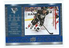 2016/17 Upper Deck Tim Hortons Game Day Action  # GDA-10 Sidney Crosby